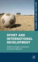 Sport and International Development