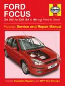 Ford Focus 01 05 Service and Repair Manual