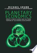 Planetary Economics