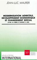 Modernisation Agricole D Veloppement Conomique Et Changement Social