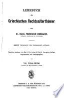 Lehrbuch der griechischen antiquit  ten      bd   2  abt  Kriegsaltert  mer  bearb  von H  Droysen  1889