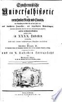 Synchronistische Universalhistorie der vornehmsten Reiche und Staaten  von Erschaffung der Welt bis auf das Jahr 1780     von Wolfgang J  ger