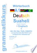 W  rterbuch Deutsch   Suaheli Kiswahili   Englisch