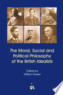 Ebook The Moral, Social and Political Philosophy of the British Idealists Epub William Sweet Apps Read Mobile