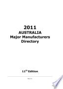 AUSTRALIA Major Manufacturers Directory