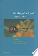 Multitrophic Level Interactions