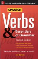 Spanish Verbs   Essentials of Grammar  2E