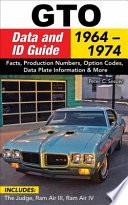 GTO Data   ID Guide  1964 1974