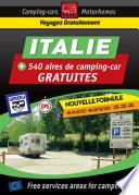illustration du livre CAMPING CAR : NOUVEAUTÉ ! Guide ITALIE des aires de camping-car GRATUITES