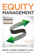 download ebook equity management, second edition: the art and science of modern quantitative investing, second edition pdf epub