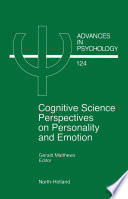 Cognitive Science Perspectives On Personality And Emotion book