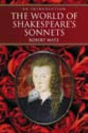 The World of Shakespeare's Sonnets