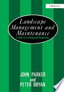 Landscape Management and Maintenance