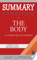Book Summary   Analysis of The Body