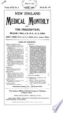 New England Medical Monthly and the Prescription