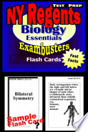 NY Regents Biology Living Environment Test Prep Review  Exambusters Flashcards