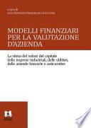 Modelli finanziari per la valutazione d azienda