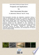 Prospects and Applications for Plant Associated Microbes  A laboratory manual