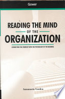 Reading the Mind of the Organization