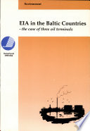 EIA in the Baltic Countries