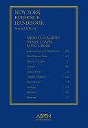 New York Evidence Handbook