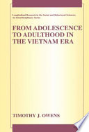 From Adolescence to Adulthood in the Vietnam Era