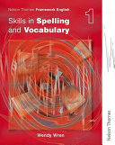 Ebook Skills in Spelling and Vocabulary Epub Wendy Wren Apps Read Mobile
