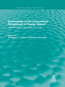 Proceedings of the International Symposium on Design Review (Routledge Revivals) Book