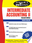 Schaum s Outline of Intermediate Accounting II  Second Edition
