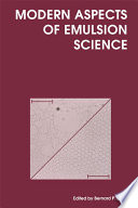 Modern Aspects Of Emulsion Science book