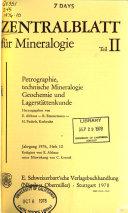 Zentralblatt f  r Mineralogie