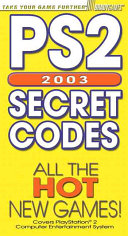PS2 Secret Codes 2003