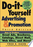Do It Yourself Advertising and Promotion