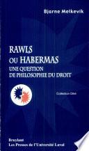 illustration Rawls ou Habermas
