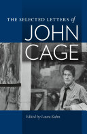 download ebook the selected letters of john cage pdf epub