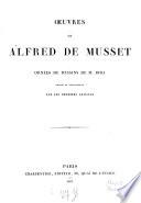 Oeuvres de Alfred de Musset ornées de dessins de M. Bida gravés en taille-douce par les premiers artistes