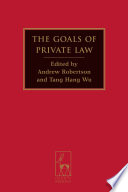 The Goals of Private Law