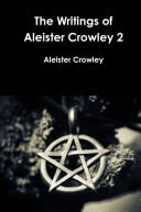 Book The Writings of Aleister Crowley 2
