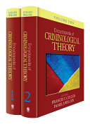 Encyclopedia of Criminological Theory