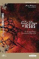 LAST DAYS OF JESUS PARTICIPANT
