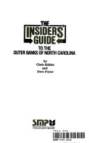 The Insiders  Guide to the Outer Banks 1987 88