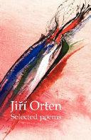 Jir Orten Selected Poems