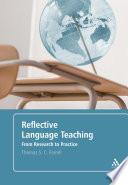 Reflective Language Teaching