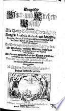 Evangelische Pfarr  und Kirchen Postill