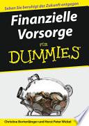 Finanzielle Vorsorge f  r Dummies