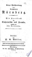 Kurze Beschreibung der Reichsstadt N  rnberg