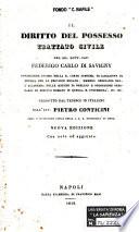Il diritto del possesso