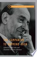 The Companion to Raymond Aron