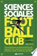 Sciences sociales football club Couverture du livre