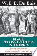 Black Reconstruction in America Book PDF